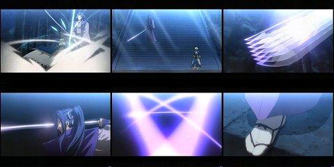 一太刀のうちに三撃の剣を振るう多重次元屈折現象(キシュア・ゼルレッチ)