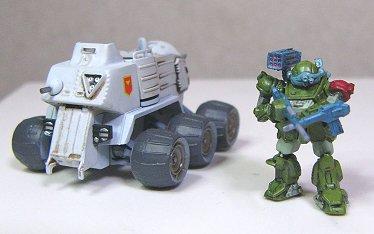 …と、装甲車