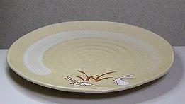 秋っぽい正月っぽい模様の皿だって日本人ですもの。
