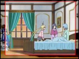 画面端で何かがモゾモゾと動いてるの…