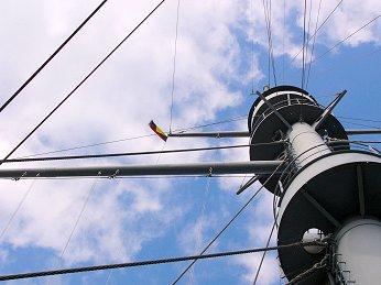帝國海軍では艦隊戦の際にZ旗の掲揚が慣例化