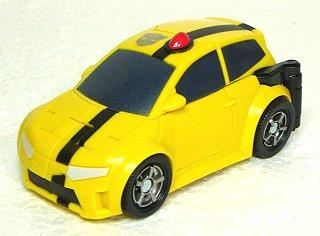 黄色いパトカー