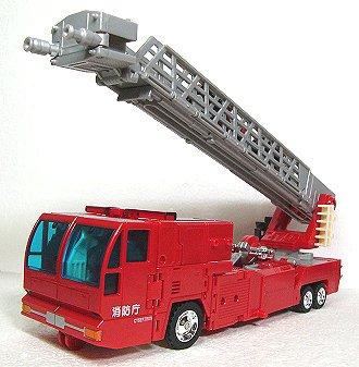 消防庁のはしご車