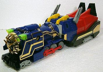 巨大蒸気機関車