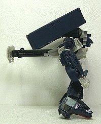 ロボットモードは正面からしか見れない