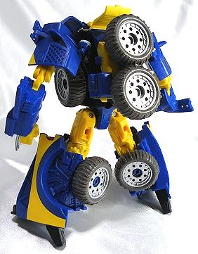 背中のタイヤがカッコイイ